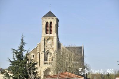Eglise Champ Saint Pere